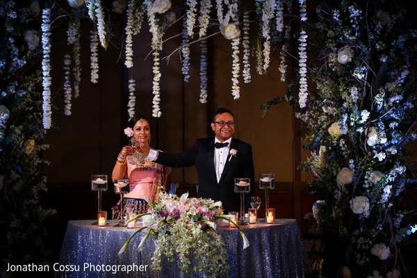 indian wedding reception,indian bride,indian wedding floral and decor