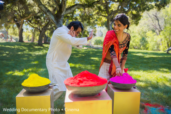 paint party,indian pre-wedding celebrations