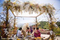 indian wedding,necklace ceremony