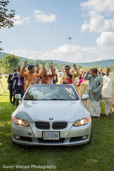 indian wedding transportation,bmw,indian wedding baraat