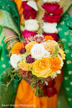 indian bridal bouquet,flower bouquet