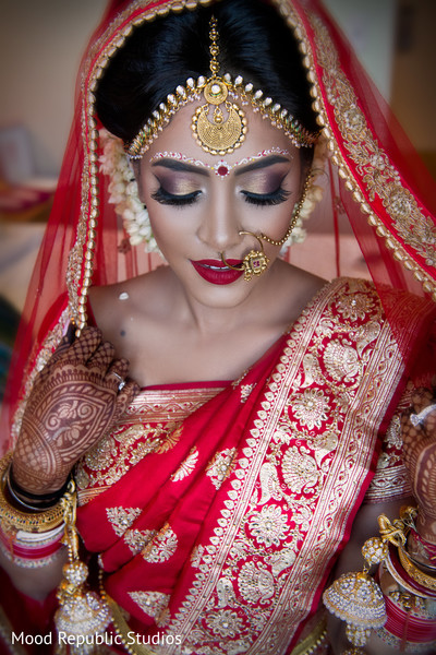 indian bride makeup,bengali bride,indian bride getting ready