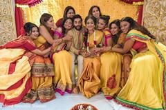 indian bride,haldi,indian pre-wedding celebrations