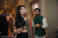 sangeet indian bride,indian pre-wedding celebrations