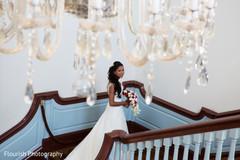 Stunning Indian Bride during photo shoot