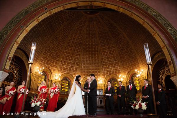 indian fusion wedding,indian wedding ceremony