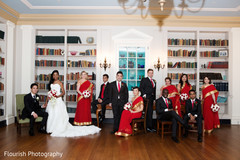 indian bridal party,bridal party fashion