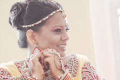 indian bride getting ready,indian bridal fashions,indian bride hair and makeup