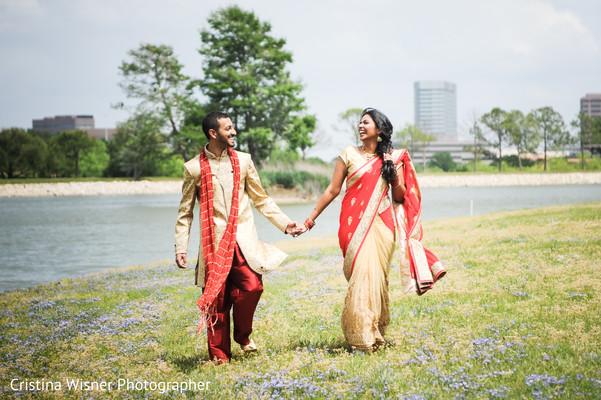 Outdoor indian wedding photography.