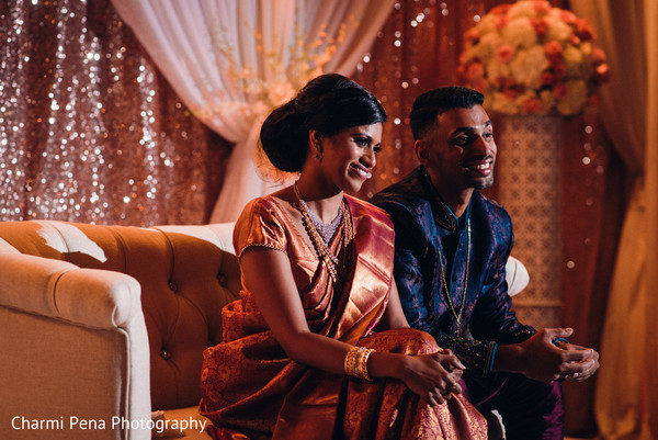 indian wedding,indian newlyweds,indian fusion wedding reception