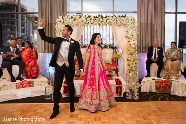 indian wedding couple,indian fusion wedding reception,indian wedding fashions