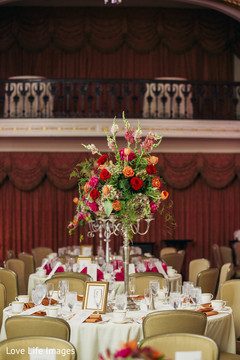table centerpieces,indian wedding photography,indian wedding gallery
