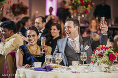floral centerpieces,lightning,indian wedding photography