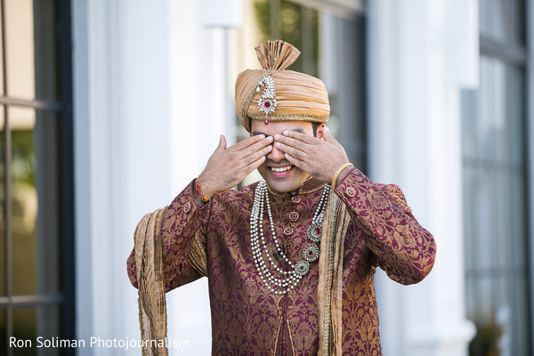 indian groom,indian groom fashion,first look photography