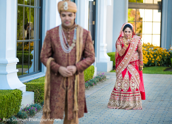 indian groom,indian groom fashion,first look photography,indian bride