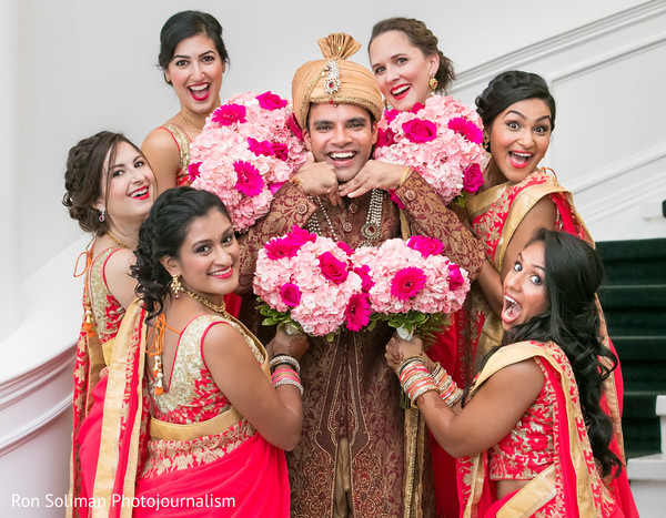 indian wedding photography,indian bridesmaids,indian groom