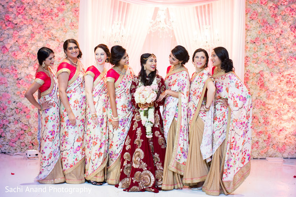 indian wedding floral and decor,indian wedding ceremony,indian bride,indian bridesmaids