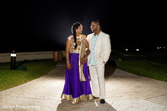 Indian couple photoshoot before sangeet ceremony