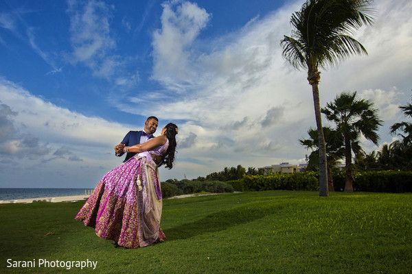 indian bride and groom,pre-wedding reception photography,indian bridal fashions