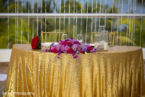 indian wedding reception floral and decor,indian bridal bouquet,indian wedding planning and design