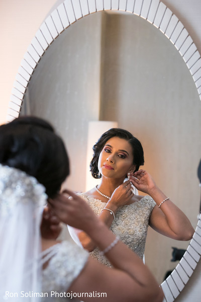 Lovely bridal hair and makeup