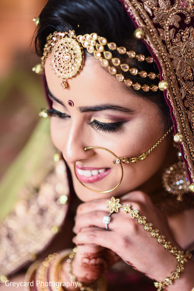indian bride,indian wedding jewelry,indian bride getting ready,indian bridal fashions