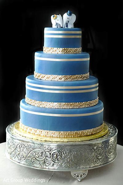 indian wedding cakes,tier cake,blue wedding cake