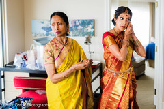 indian bride,indian bride getting ready,indian bridal fashions