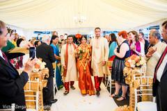 indian wedding ceremony,indian bride,indian bridal sari