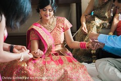 indian bride,indian bridal hair and makeup,indian bridal fashions,indian bride getting ready