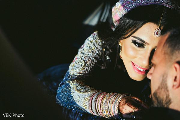indian bride and groom,bridal tikka,indian bride makeup