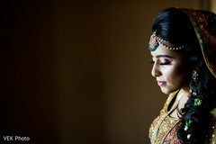 Indian bride photography before mehndi party