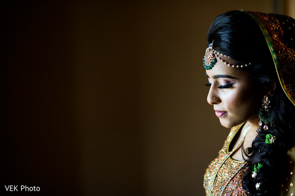 indian bride makeup,indian bride,indian wedding gallery