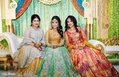 indian bridal lengha,indian bride hair and makeup,bridal tikka