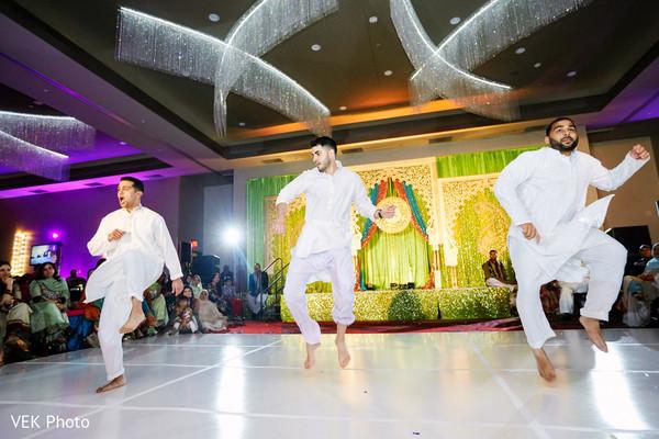 Indian wedding performers