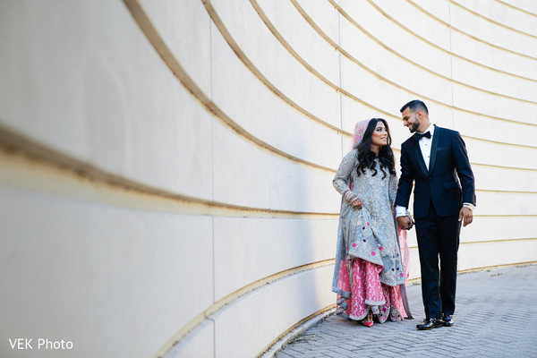 Lovely indian couple photo session before wedding reception in Dallas, TX Pakistani Wedding by VEK Photography