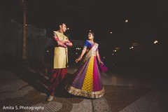 indian sangeet,indian bride and groom,indian pre-wedding celebrations