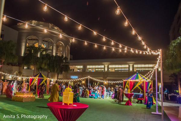 indian sangeet,indian pre-wedding celebrations,sangeet decoration