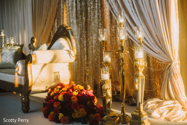 indian wedding reception,indian wedding floral and decor
