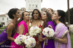 indian wedding gallery,indian bridesmaids' fashion,indian bridal lengha