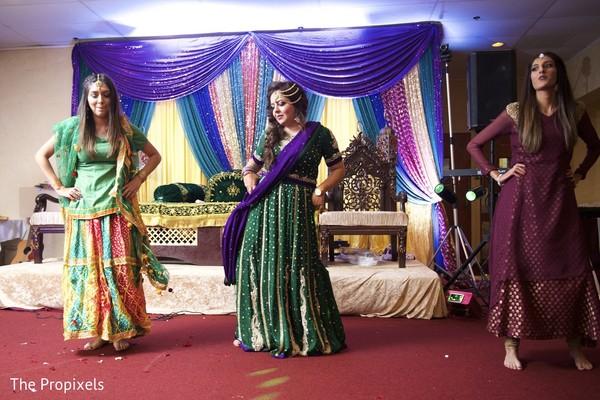 Sangeet dance performance