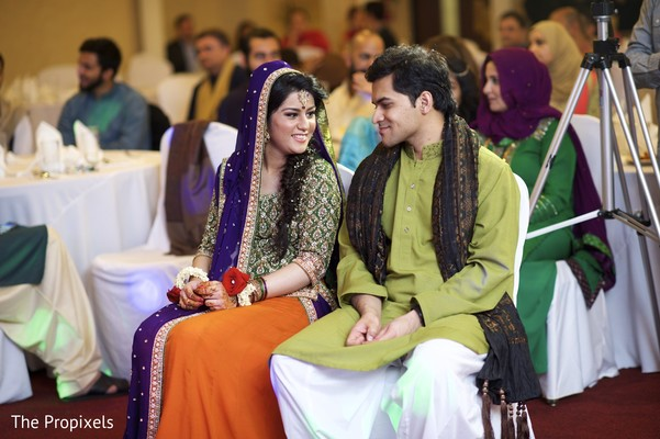 indian wedding couple,indian sari,indian groom fashion