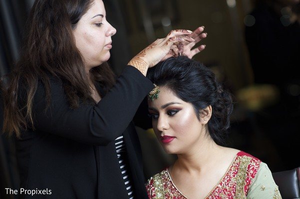indian bride makeup,hair and makeup artist