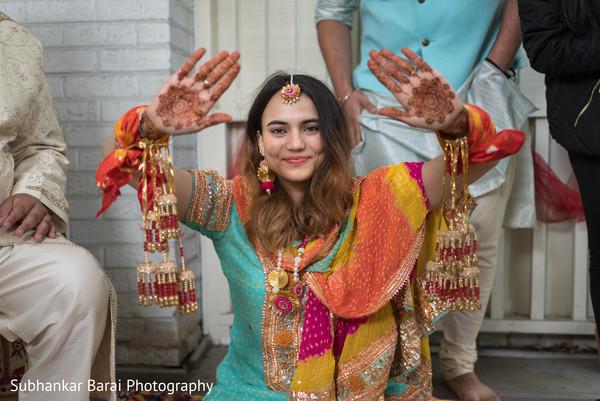 indian bride,indian pre-wedding celebrations,kaleera