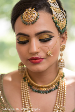 indian bride hair and makeup,indian bridal jewelry