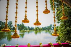 Outdoor sikh wedding ceremony capture