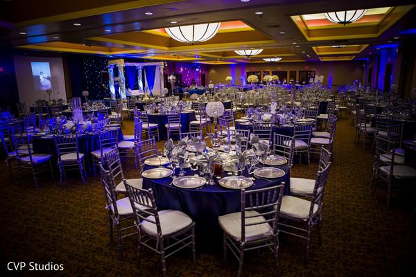 Wedding venue setting