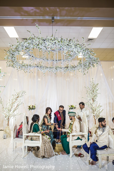 indian wedding ceremony floral and decor,flower mandap,indian wedding planning and design
