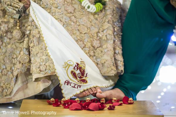 saptapadi ritual,indian wedding ceremony floral and decor,indian wedding ceremony photography