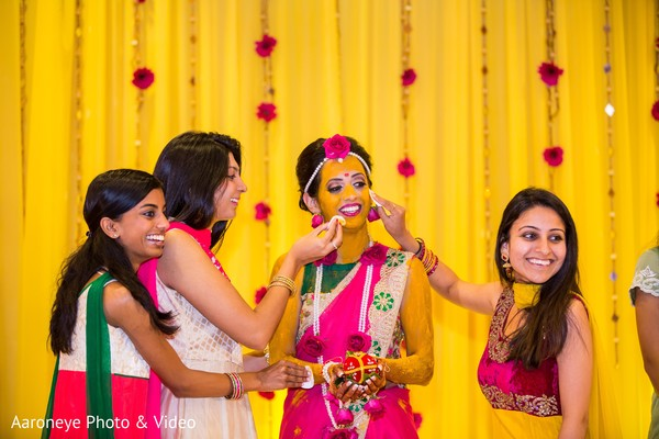haldi powder,haldi ritual,pre-wedding ceremony photography